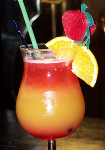 cocktail lava flow