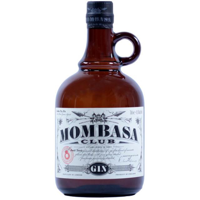 Hier ist der Mombasa Club Gin