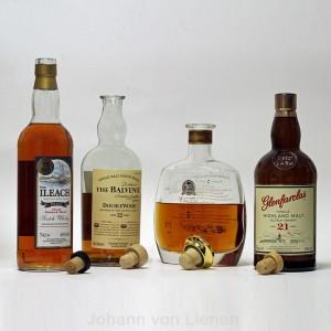 Kork in der Whiskyflasche