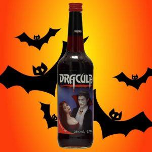 eine Flasche Dracula Original Likör