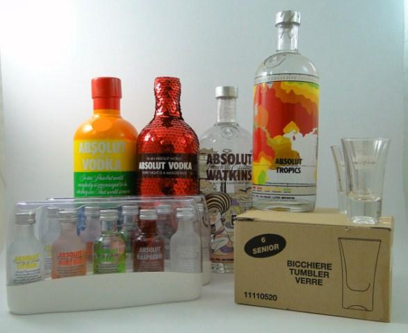 Absolut Vodka Gewinnspiel