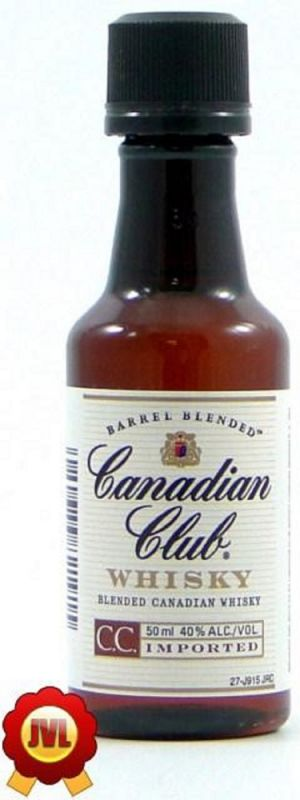 Canadian Club Miniflasche 0,05 L 40%vol