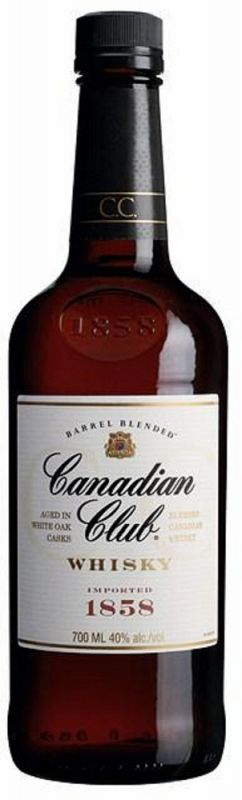 Canadian Club 0,7 Ltr. 40%