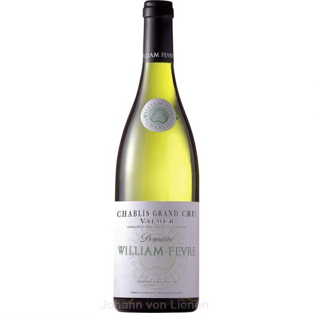 Französische Weine William Fèvre Chablis Valmur Grand Cru AOC 0,75 L 12%vol