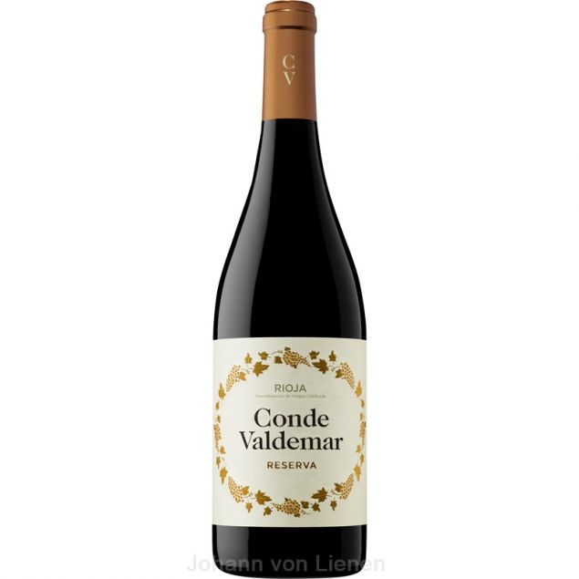 Image of 2012 Conde Valdemar Reserva Rioja DOCa