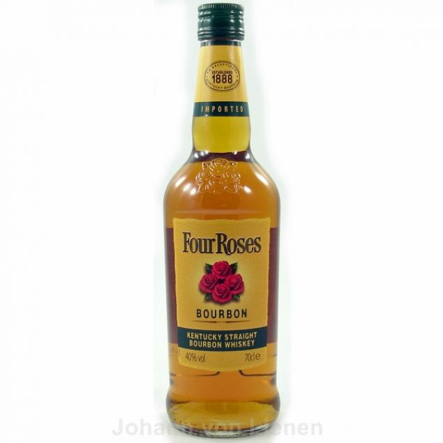 Four Roses Bourbon Whiskey 0,7 L 40%vol