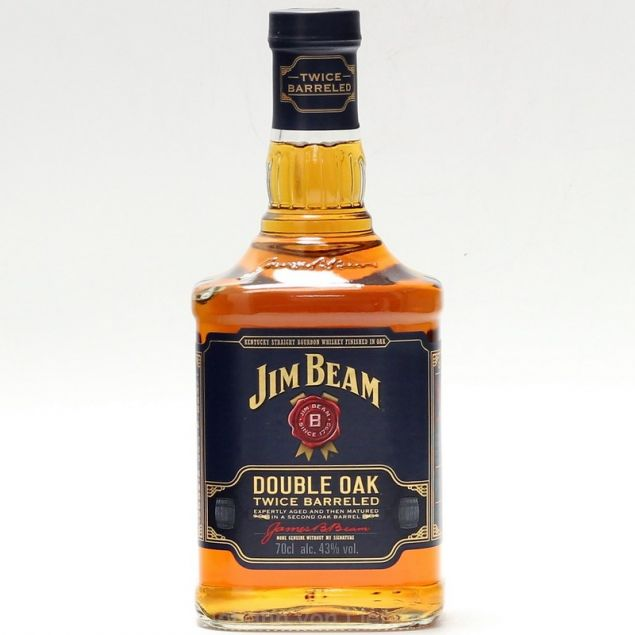 Jim Beam Double Oak 0,7 L 43%vol