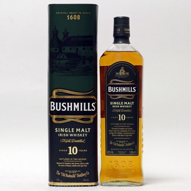 Bushmills Malt 10 Years 1 Ltr 40%vol