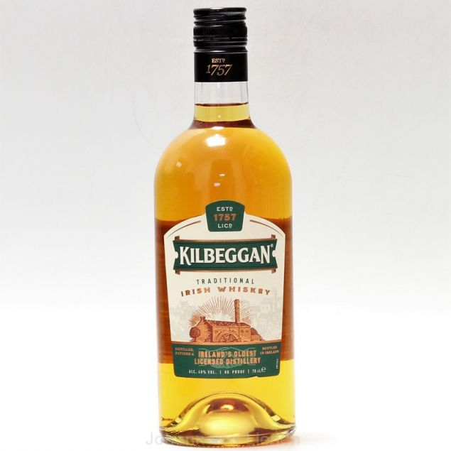 Kilbeggan Irish Whisky 0,7 L 40%