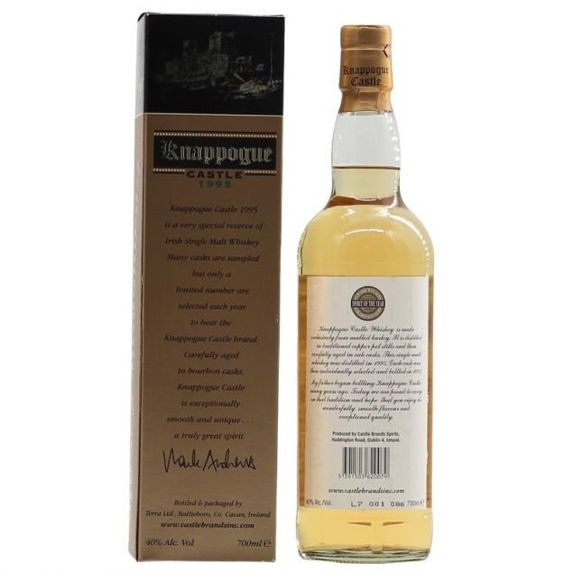 Knappogue Castle 1995 0,7 Ltr. 40%