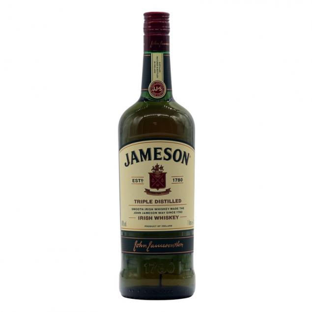 John Jameson Triple Distilled Irish Whiskey 1 L 40% vol