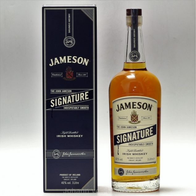 Jameson Signature 1 L 40%vol