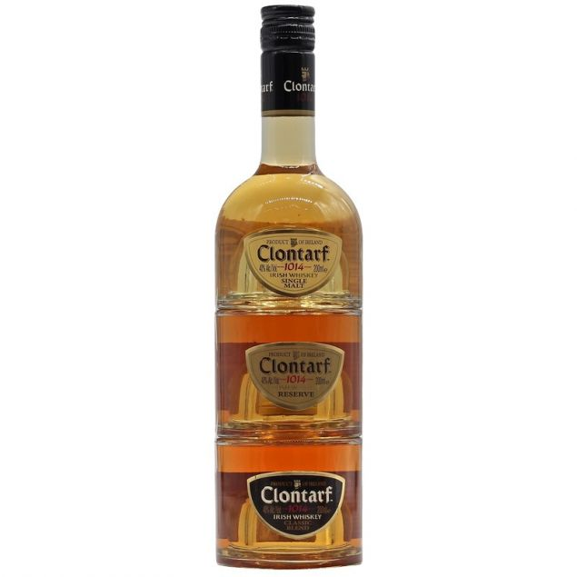 Clontarf Trinity Collection 3 x 0,2 L 40%