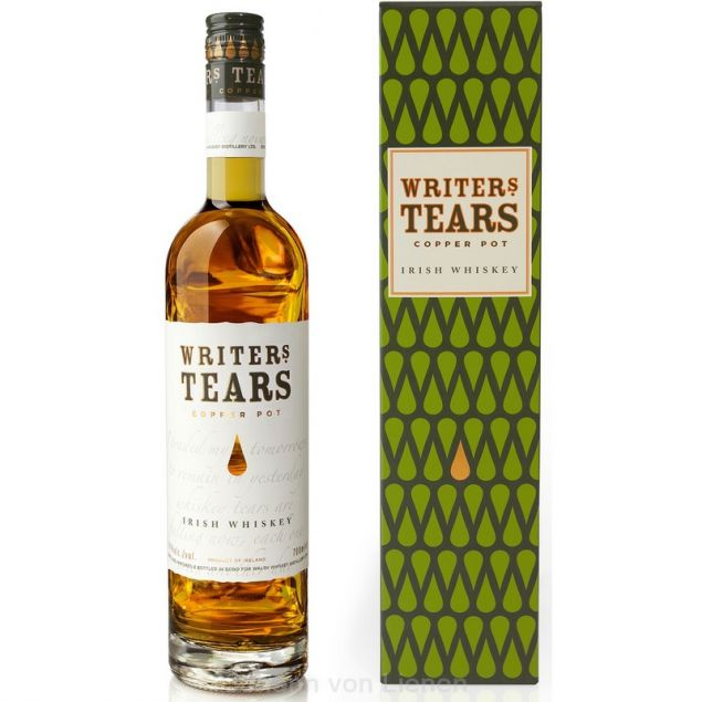 Writer's Tears Copper Pot Irish Whiskey 0,7 L 40%vol