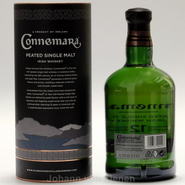 Connemara 12 Years Peated Single Malt 0,7 L 40%vol