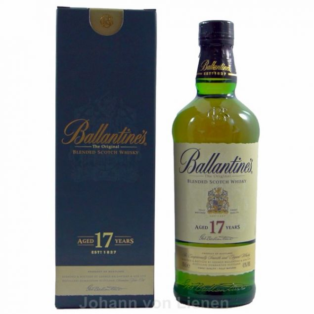 Ballantines 17 Years 0,7 L 43%vol