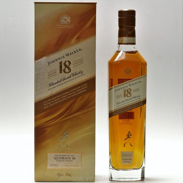 Johnnie Walker 18 Jahre 0,7 L 40%vol