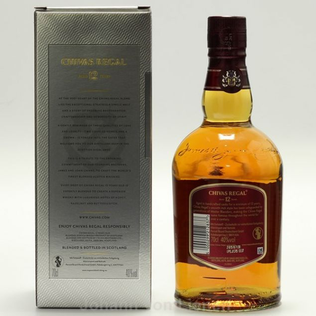 Chivas Regal 12 Years 0,7 Ltr. 40%