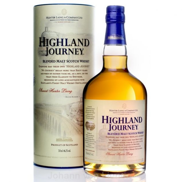 Highland Journey Blended Malt 0,7 L 46,2%vol