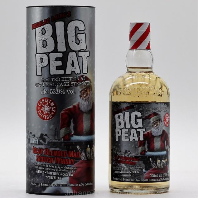 Big Peat Christmas Edition 2018 0,7 L 53,9%vol