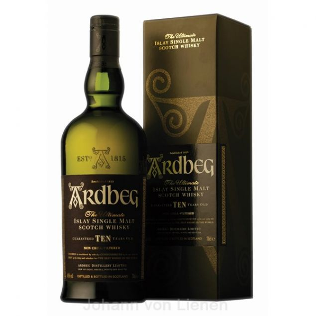 Ardbeg TEN 10 Years - Jahre 0,7 Ltr 46%vol