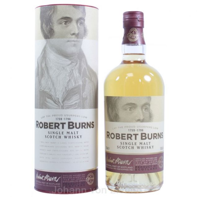 "Arran ""Robert Burns"" 0,7 Ltr. 43%vol"