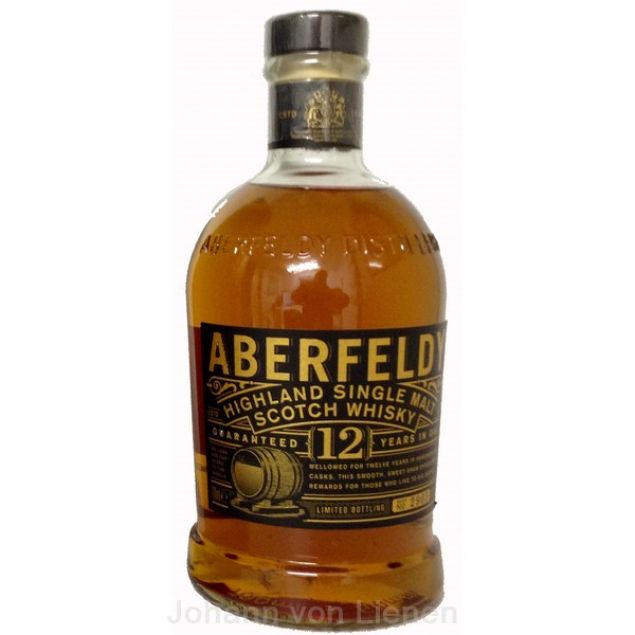 Aberfeldy 12 Years 0,7 L 40%vol