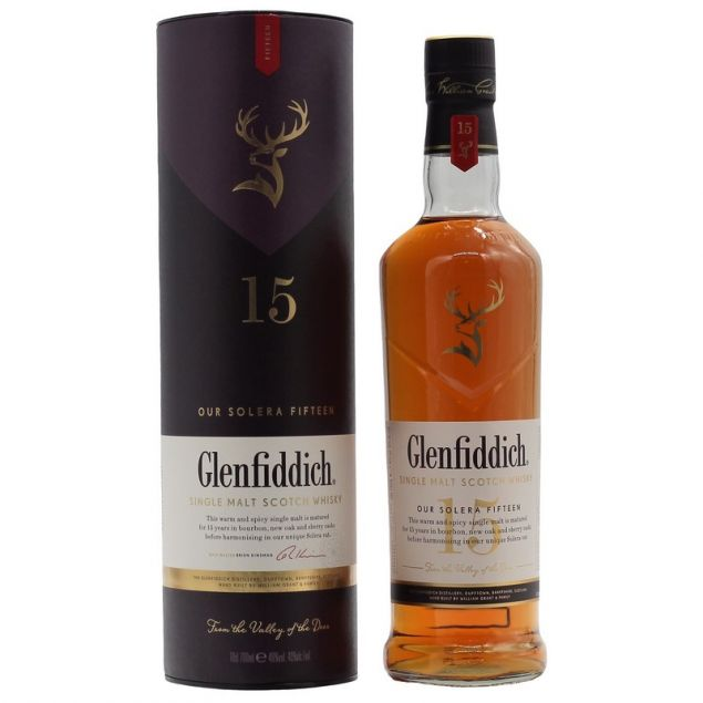 Glenfiddich 15 Years 0,7 L 40%vol