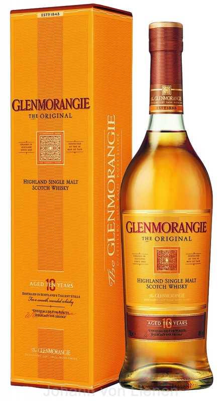 Image of Glenmorangie Highland Single Malt Whisky The Original 10 Years Old in Gp - Whisky