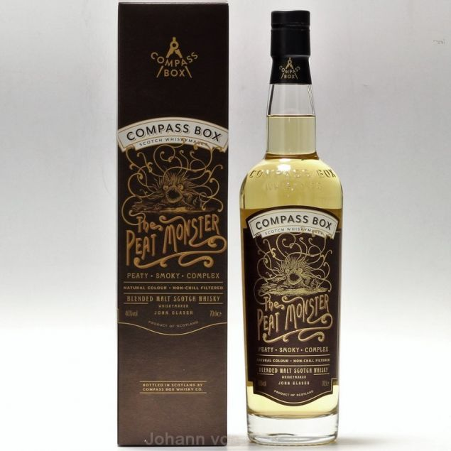 The Peat Monster Compass Box 0,7 L 46%vol