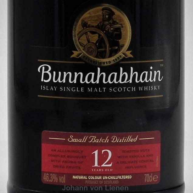 Bunnahabhain 12 Years Old 0,7 Ltr. 46,3%vol