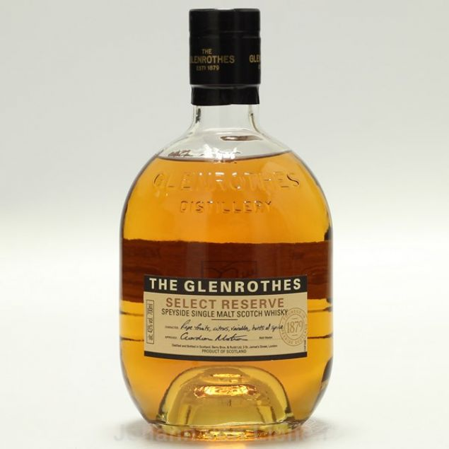 Glenrothes Select Reserve  0,7 L 43%vol