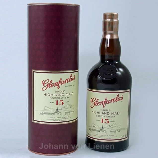 Glenfarclas 15 Years Old 0,7 L 46%