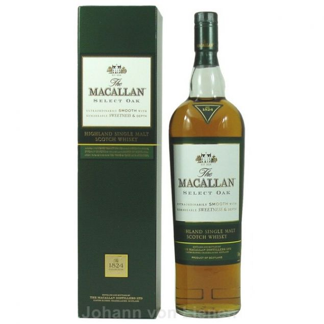 Macallan Select Oak 1824 1 L 40%vol