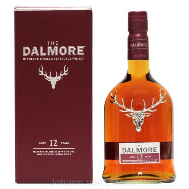 Dalmore 12 Years The Twelve 0,7 L 40%vol