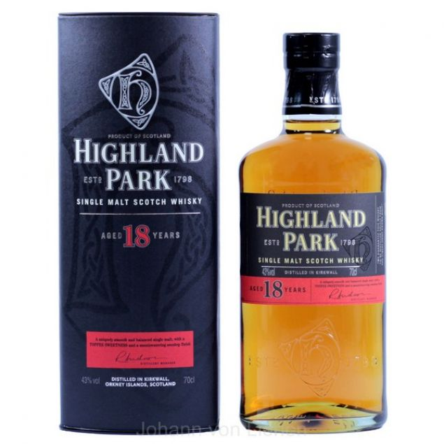 Highland Park 18 Years 0,7 L 43%vol