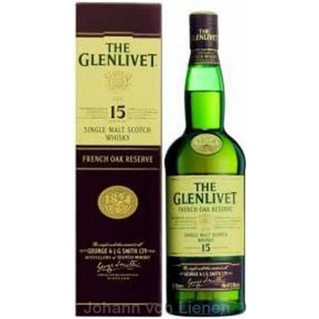 The Glenlivet 15 Years Old 0,7 Ltr. 40% vol.