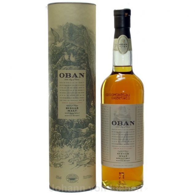 Oban 14 Years Old 0,7 L 43%vol