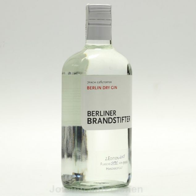 Berliner Brandstifter Dry Gin 0,7 L 43,3%vol