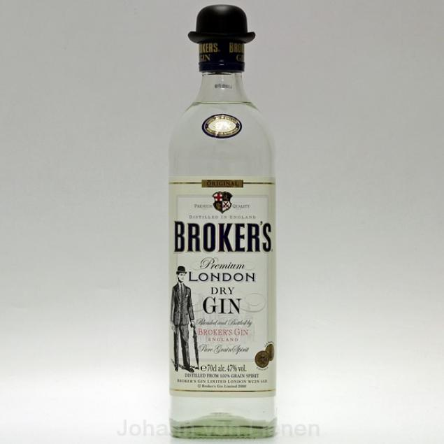 Brokers London Dry Gin 0,7 L 47%vol