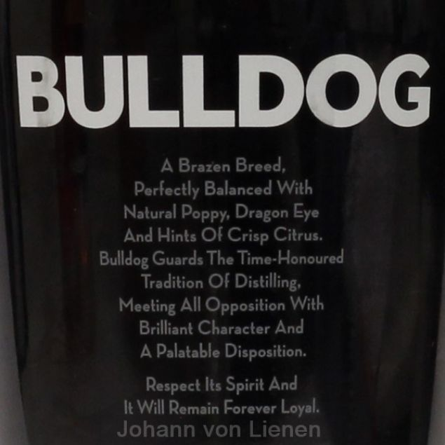 Bulldog London Dry Gin 0,7 L 40%vol