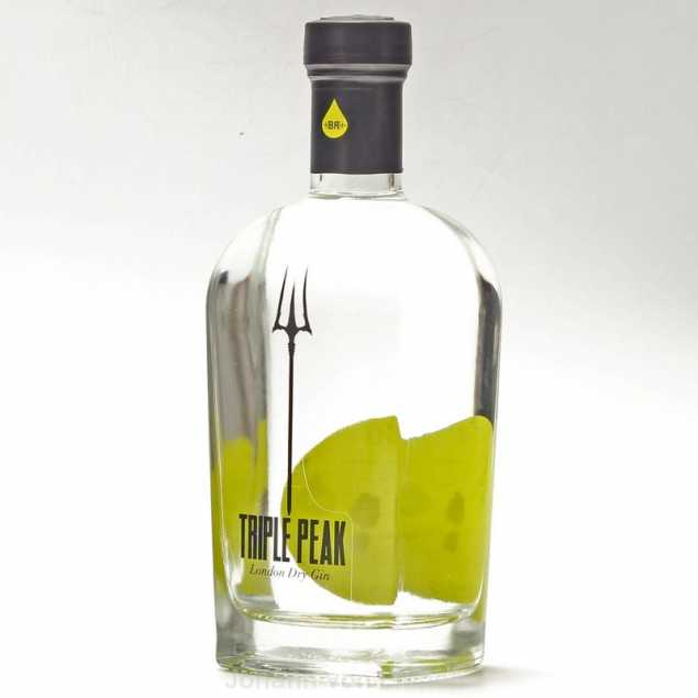 Triple Peak London Dry Gin 0,5 L 44%vol
