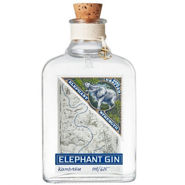 Elephant Gin Strength 0,5 L 57%vol