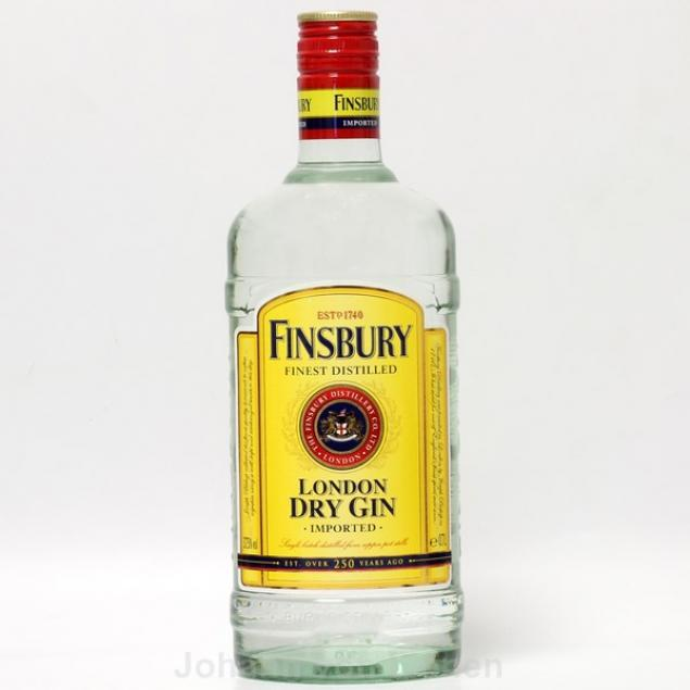 Finsbury Finest Distilled Gin 0,7 L 37,5%vol