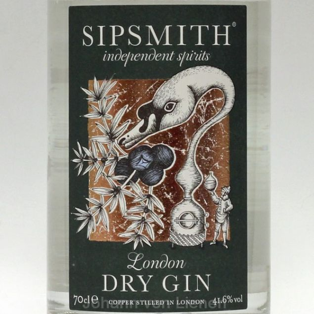 Sipsmith London Dry Gin 0,7 L 41,6%vol