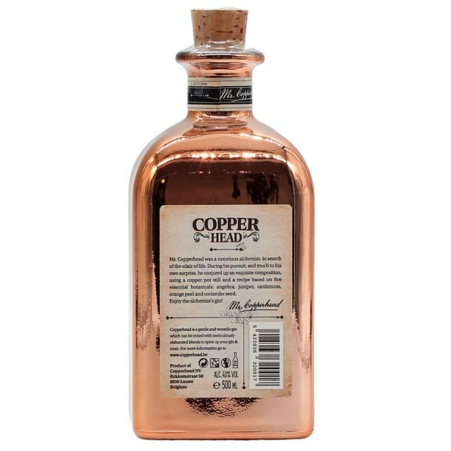Copperhead The Alchimist's Gin 0,5 L 40%vol