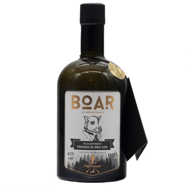 BOAR Gin 0,5 L 43% vol
