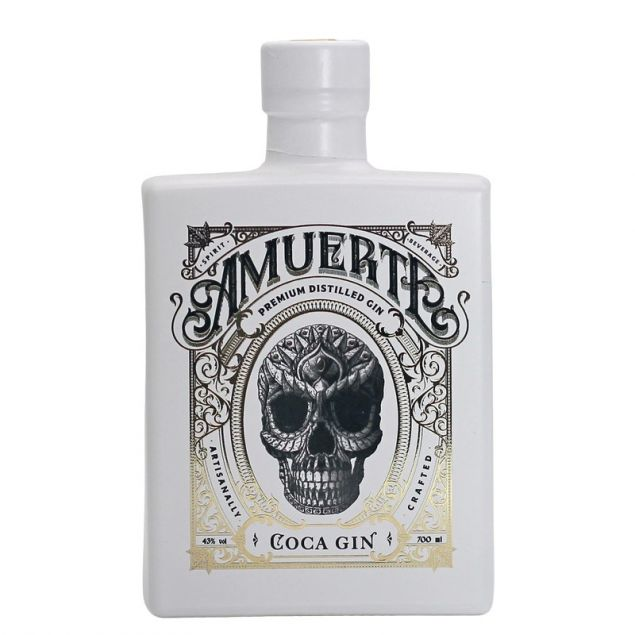 Amuerte Coca Leaf Gin White Edition 0,7 L 43%vol