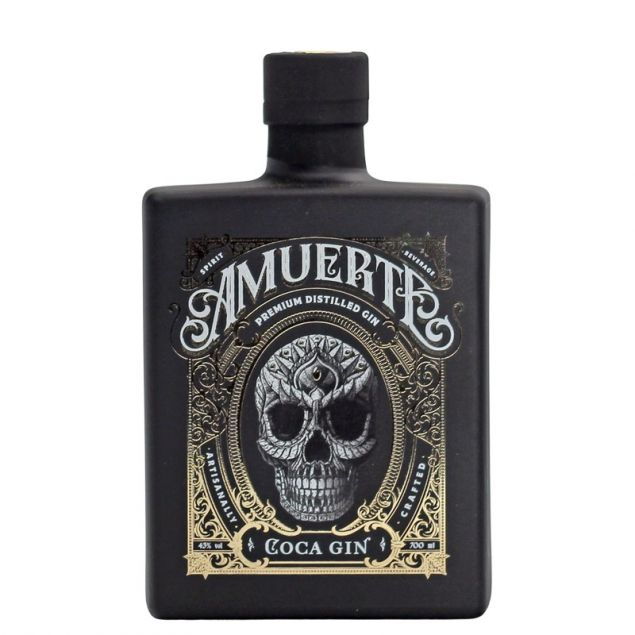 Amuerte Coca Leaf Gin Black Edition 0,7 L 43%vol