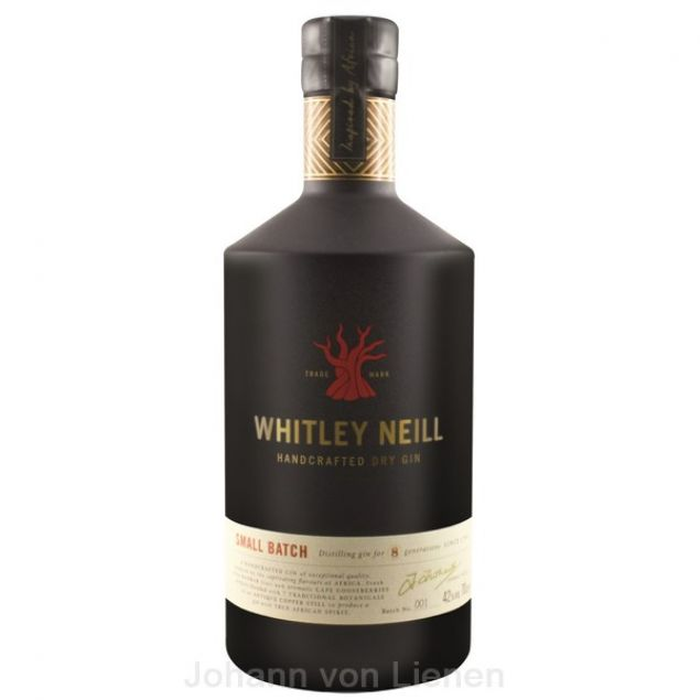 Whitley Neill London Dry Gin 0,7 Ltr. 42%vol